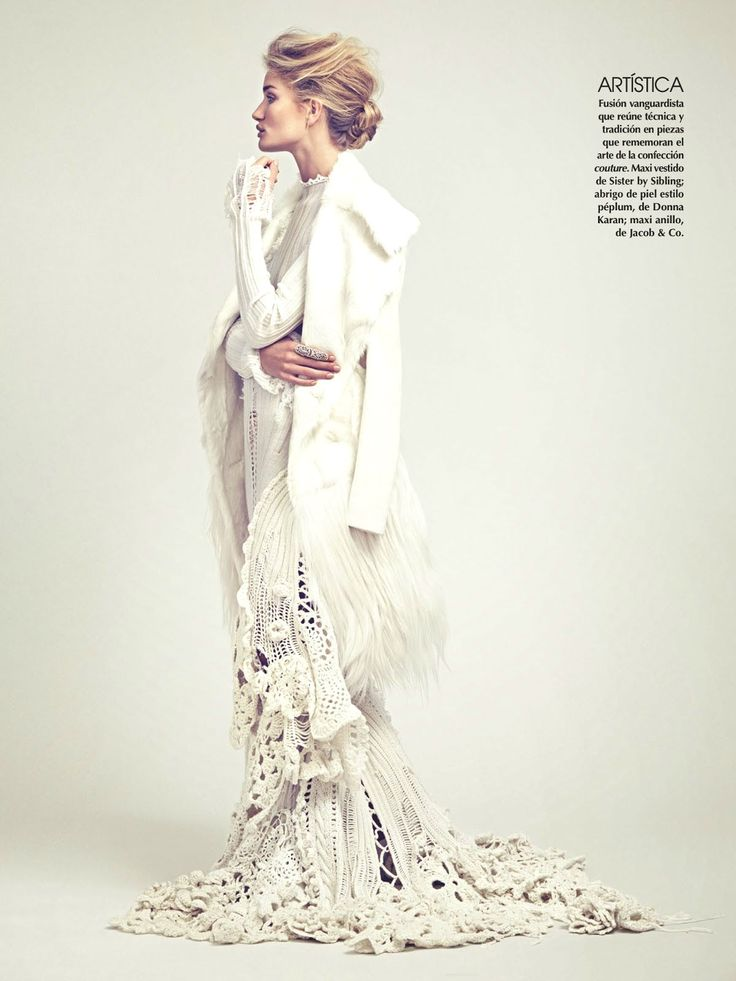 Vogue Mexico November 2014 | Rosie Huntington-Whiteley | James Macari