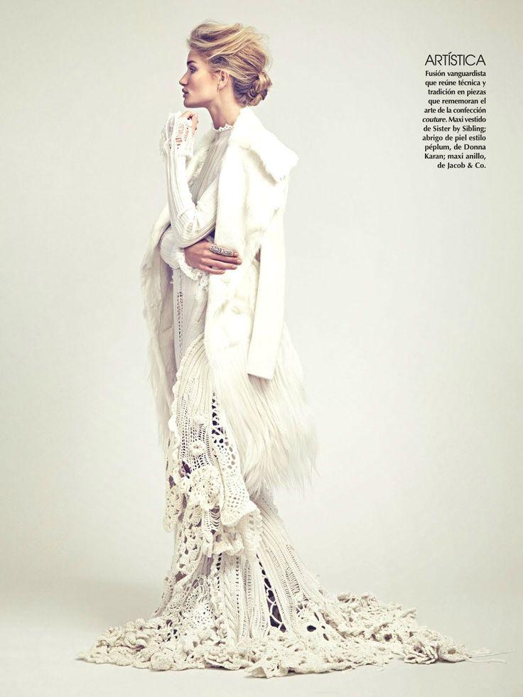 Vogue Mexico November 2014 | Rosie Huntington-Whiteley | James Macari