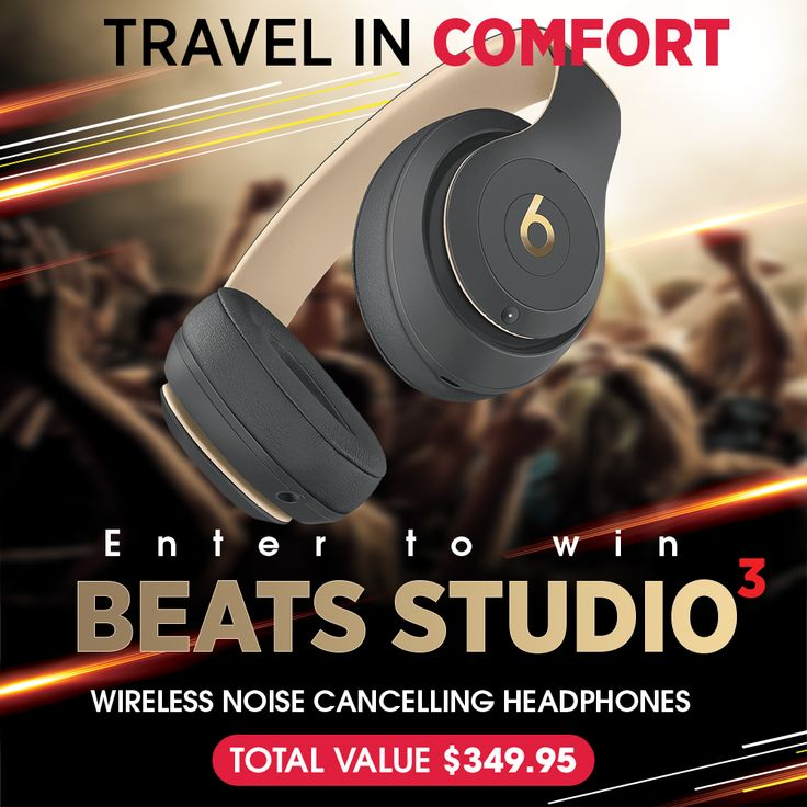Propellar.co are excited to be launching a range of amazing travel accessories in 2018 and to celebrate we are giving away the perfect travel companion - Beats Noise Cancelling Headphones