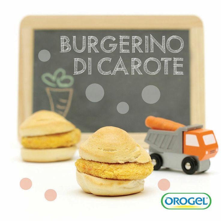 Mini burger di #carote #ricettebambini