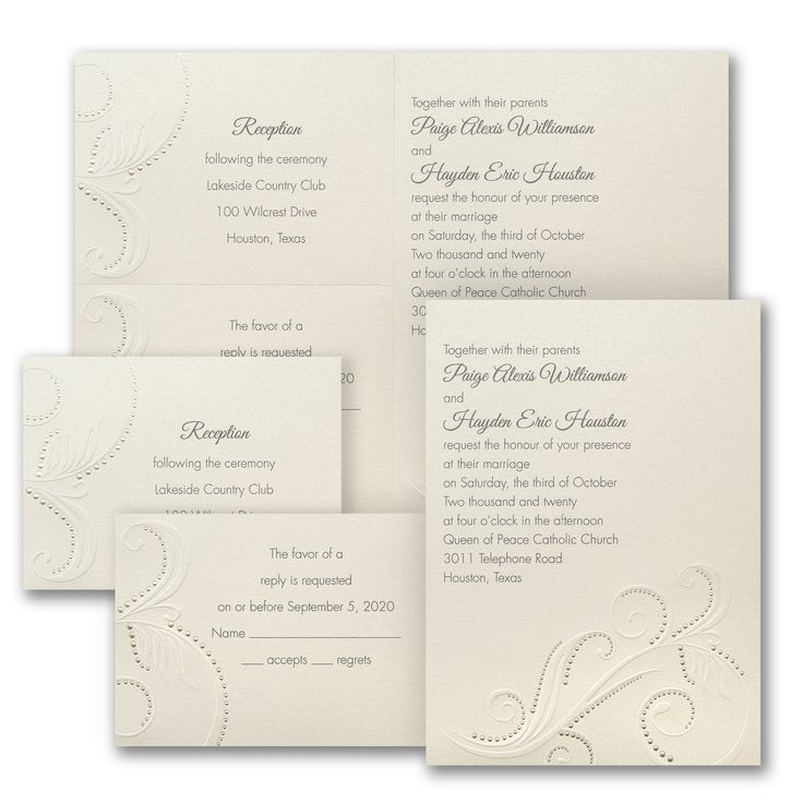 103 best embossed wedding invitations images on pinterest embossed a classic swirl design with embossed dots is featured on this shimmery invitation stopboris Images