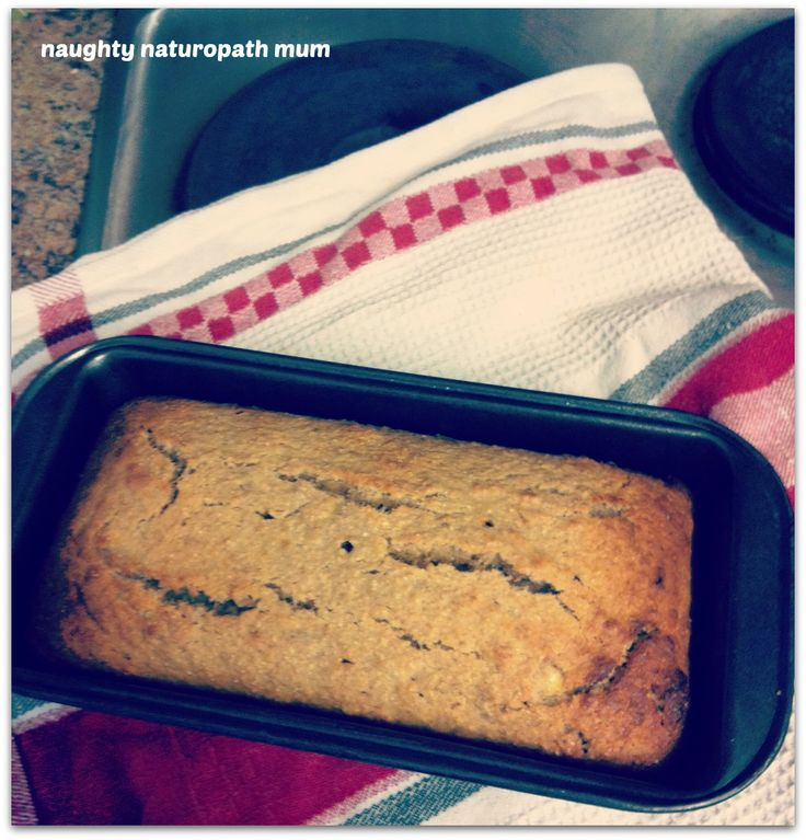 Absolutely Scrummy Dairy Free, Gluten Free Banana Bread - Naughty Naturopath Mum
