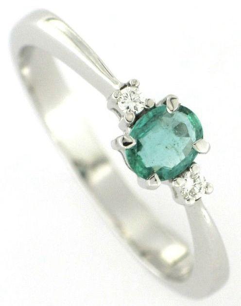 Eccezionale Oltre 25 fantastiche idee su Anelli di fidanzamento smeraldo su  IA38