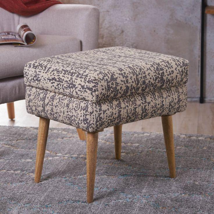 Jeneva Fabric Ottoman