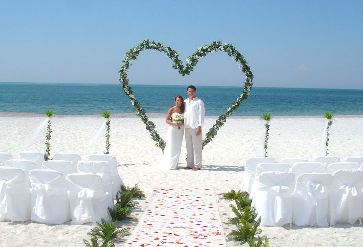 Lido Beach Florida Beach Wedding