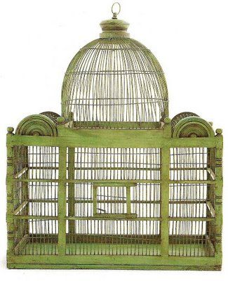 my birdcage may get a redo.