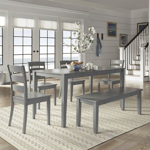 Wilmington 7 Piece Counter Height Dining Set November 2018 With