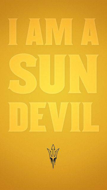 Show your Sun Devil pride with these awesome backgrounds for iPhone and Galaxy smartphones! ow.ly/j0c4n #ASU