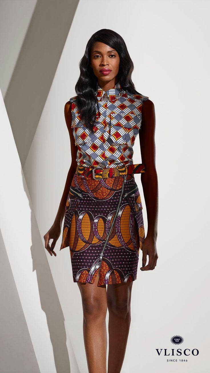 Ankara Long Skirt And Blouses