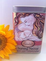 """Birth Song Botanicals - Nursing Nectar Breastfeeding Tea  -Nursing your baby is a gift for the both of you. Allowing yourself to be supported and nourished with Nursing Nectar promotes a healthy and abundant milk supply.  Nursing Nectar Tea is the perfect companion to """"Let There Be Milk!"""" tincture.  Benefits: Drinking Nursing Nectar may increase the maternal milk supply.  These herbs are also gentle on the digestive system promoting gentle digestion"""