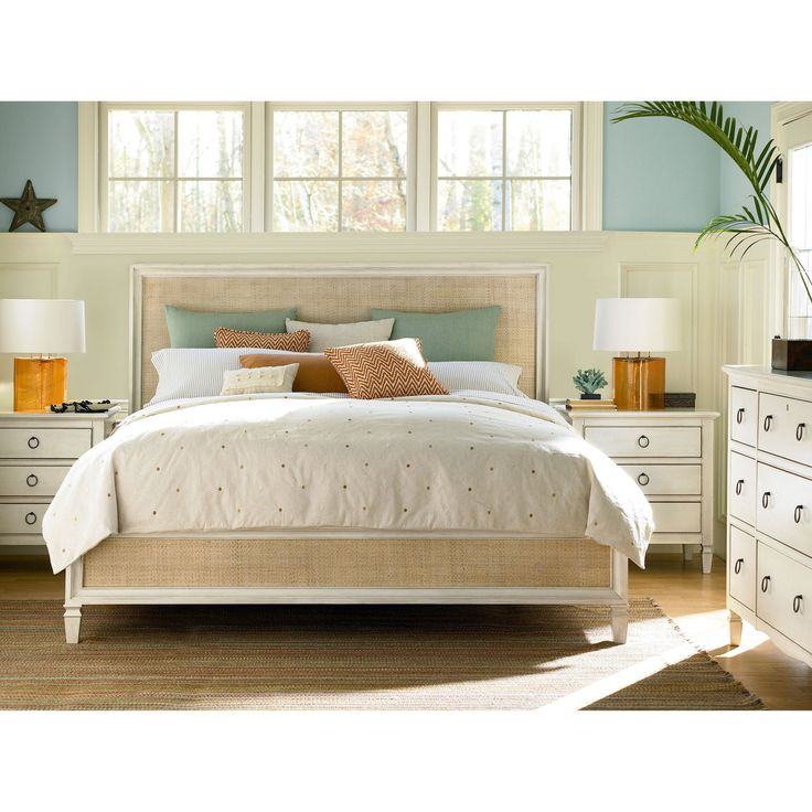 Summer Hill Woven Low Profile Bed - Cotton - UNIR1783