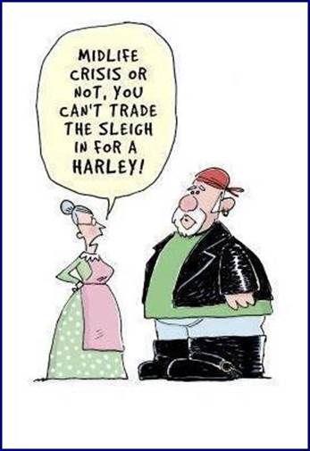 No Harley?