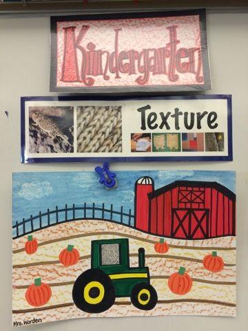 Jamestown Elementary Art Blog: Kindergarten texture tractors