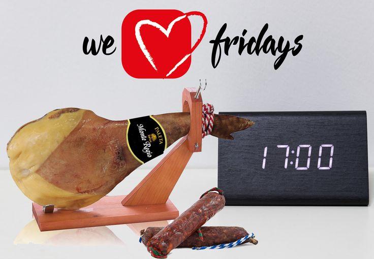 ¡Solo quedan 7 horas! Adelántate a la Navidad y compra ya el jamón a un precio inmejorable. Entra en https://www.frideals.es y compra ya una paleta serrana Monte Regio, un salchichón y un chorizo ibérico por 19,95 € #WeLoveFridays #ofertas #chollos #descuentos