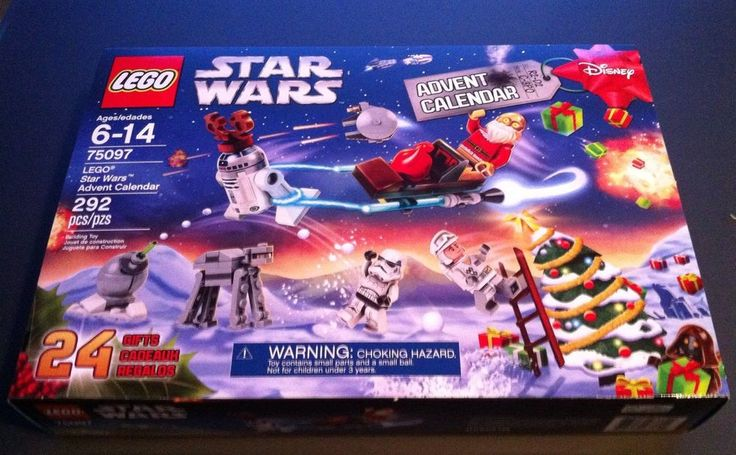 Lego Star Wars Advent Calendar 2015 Set 75097 C3PO Santa R2D2 Reindeer NEW #LEGO