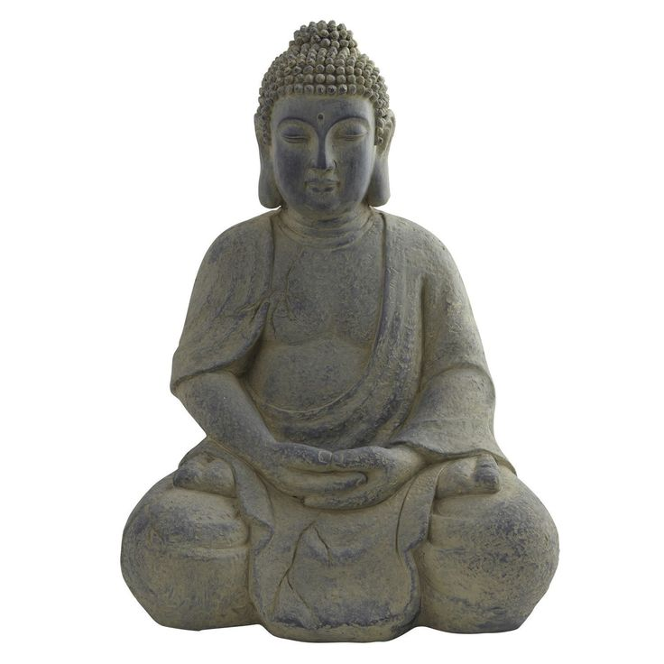 Nearly Natural Buddha Lotus Pose Indoor/ Outdoor Statue - Overstock Shopping - Great Deals on Nearly Natural Statues & Sculptures