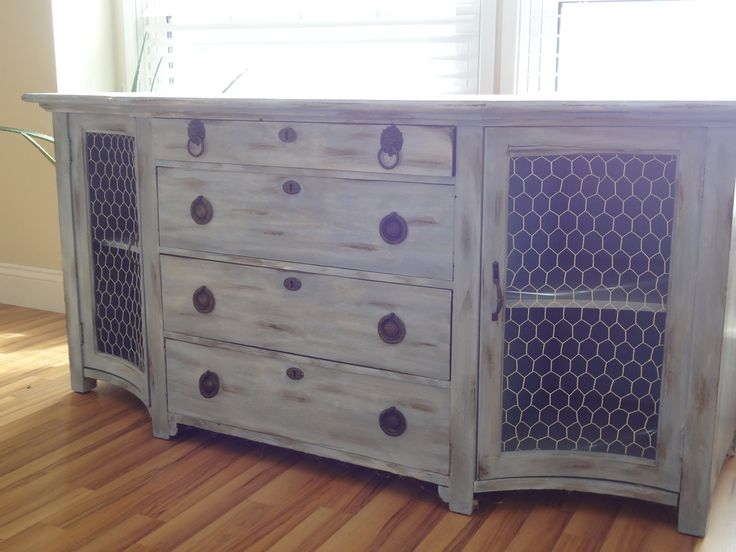 Shabby chic Entertainment center  $495