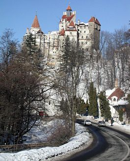 The Bran Castle -Where vampires meet in the night... (well, not really but it's a good story)
