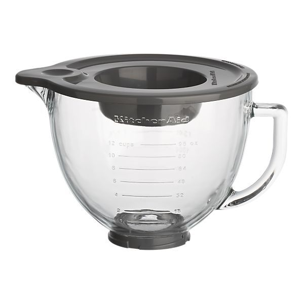 For my Kitchen Aid Mixer.  I never realized I could buy a glass bowl.  Now I want this badly.