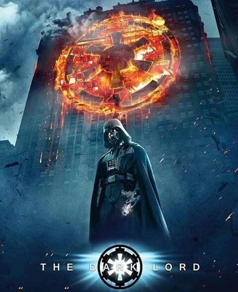 The Dark Knight/Star Wars Crossover
