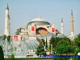 Santa Sofia #estambul #turquia http://www.pacoyverotravels.com/2013/09/que-ver-y-visitar-en-estambul-en-3-dias.html