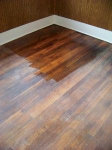 7 Steps to refinish your hardwood floor...a step by step tutorial.