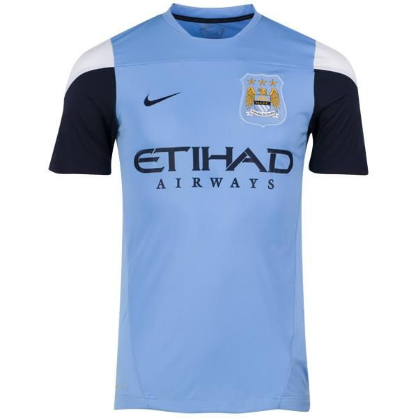 Manchester City Training Top - Mens Blue  曼城練習球衣  US$48.60