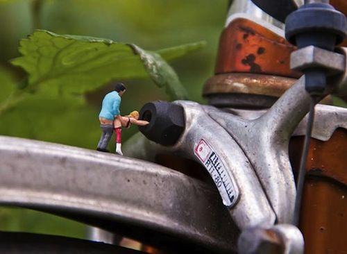 Kamasutra miniature par Mr Peluche