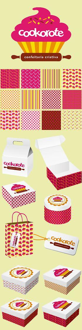 Criação de Identidade Visual para a marca COOKOROTE