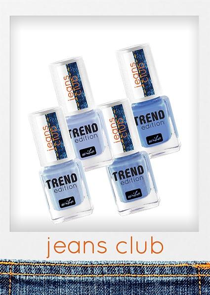 JEANS CLUB kolekcja w kolorach jeansu, który ostatnio na nowo podbił wybiegi wielkich projektantów. Klasyką w każdej kobiecej szafie są jeansy, które ubieramy w różnych zestawieniach. Teraz można podkreślić je lakierem do paznokci Wibo w 4 jeansowych kolorach.