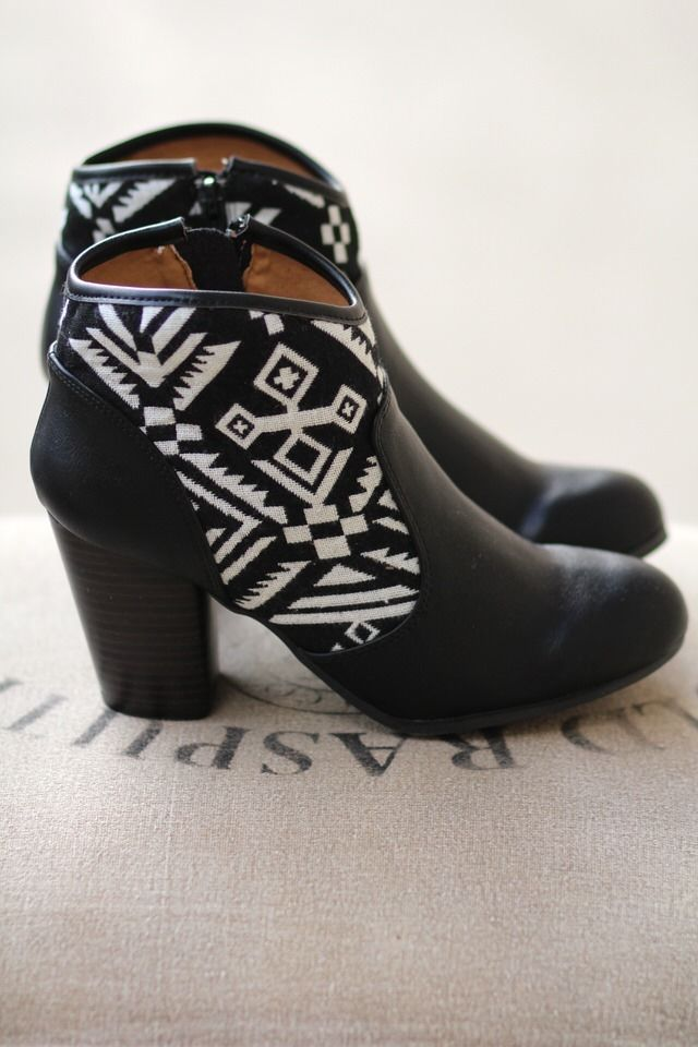 NanaMacs Boutique - Aztec'n Around In My Booties(Black),  Now available in Tan, Taupe & Black. (http://www.nanamacs.com/aztecn-around-in-my-booties-black/)