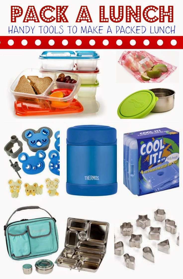 Handy Tools to Help Make a Packed Lunch a little More Fun & Neat!