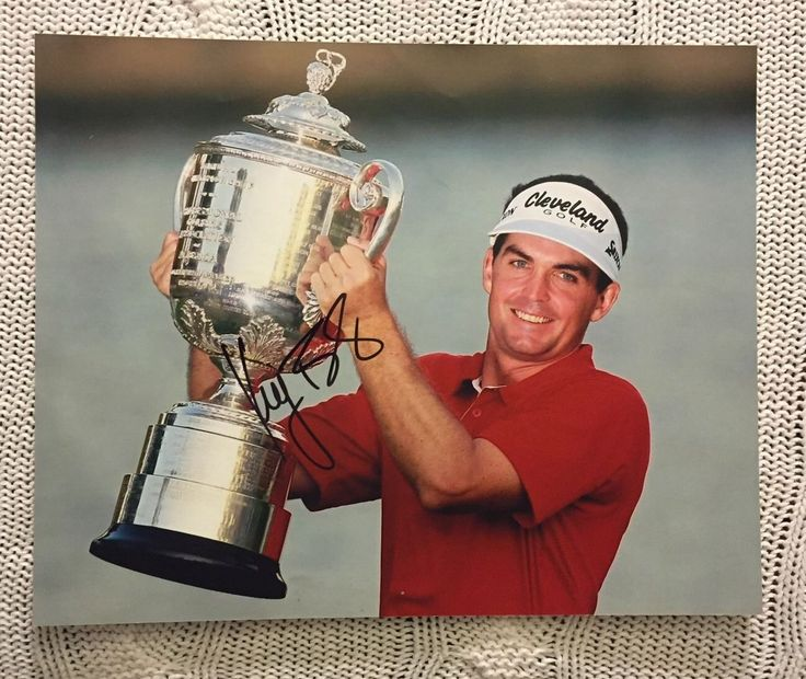 Keegan Bradley Signed Pga Tour Golf 8 X 10 Photo