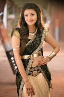 Kajal Agarwal Stills in GAV Movie, Beautiful Kajal Agarwal hot stills in saree from Govindudu Andarivadele film, Kajal Agarwal latest