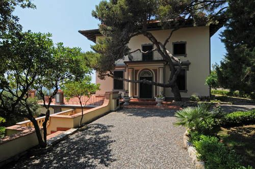 Luxury Villa Corcos for sale on Castiglioncello Coast in Tuscany