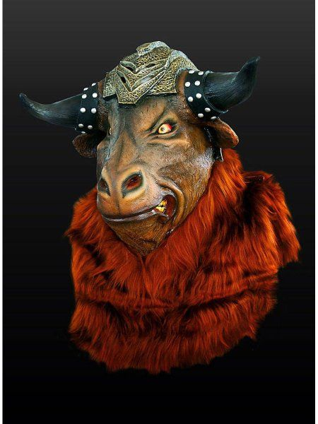 "https://11ter11ter.de/17041318.html Latex Überziehmaske ""Minotaurus"" für Erwachsene #11ter11ter #Maske #Latex #Tiermaske #Tier #Mask #Animal #Kostüm"