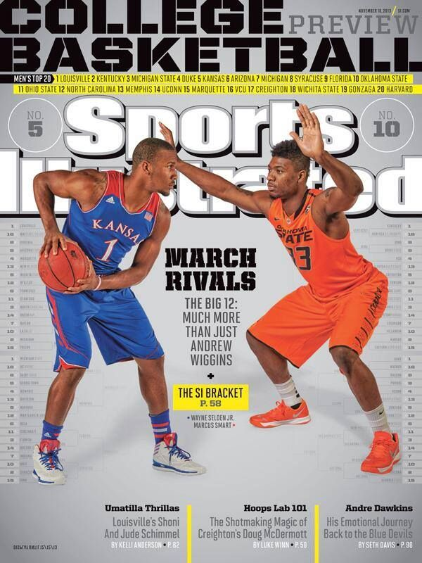 Wayne Selden Jr. on the cover of Sports Illustrated with Marcus Smart from OSU, November 2013