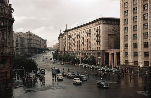 Tverskaya Street (1950s)