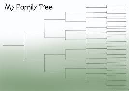 Image result for blank family tree picture