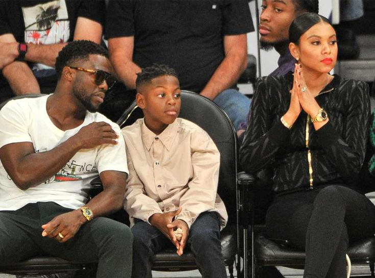 Kevin Hart, Hendrix Hart, & Eniko Parrish: The Big Picture: Today's Hot Photos