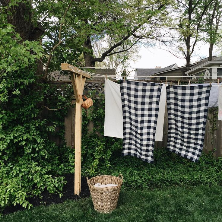 backyard laundry