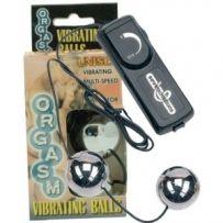 Orgasm Vibrating Duo Balls (Silver)