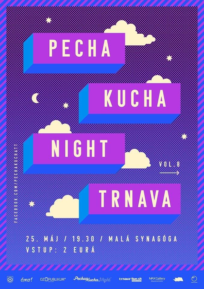 Poster for Pecha Kucha Night Trnava by Misha Chmelickova /// http://www.mish.sk/