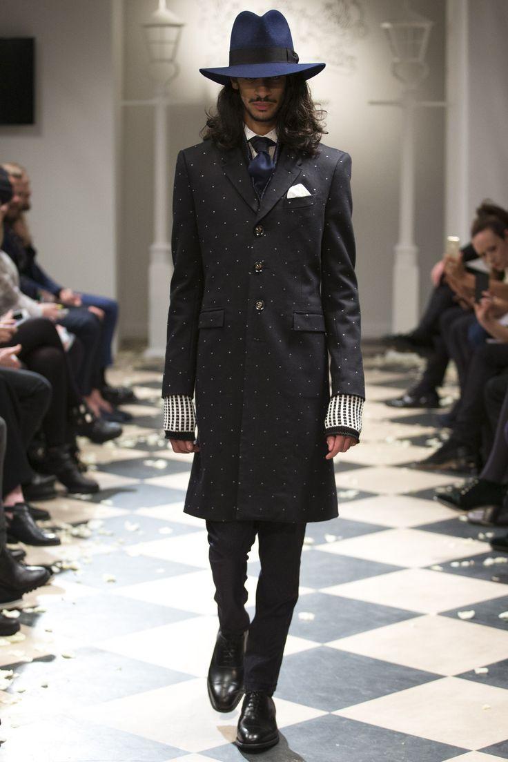 See the Joshua Kane menswear autumn/winter 2015 collection