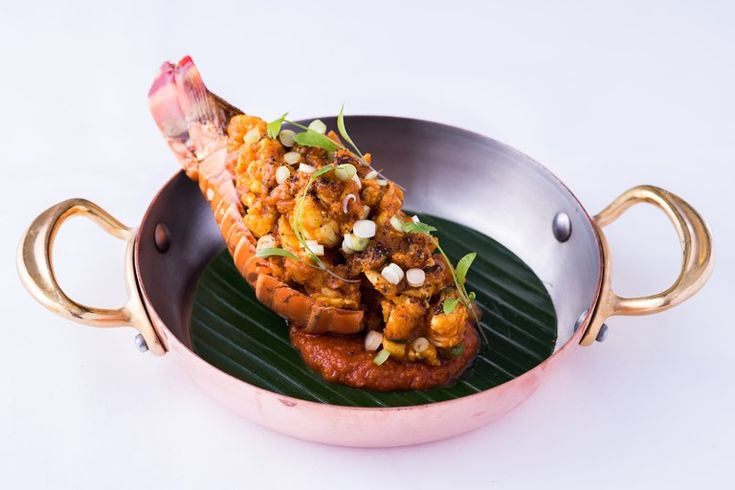 An indulgent lobster tail recipe from chef Peter Joseph, this Indian masala recipe poaches lobster tails in a fragrant, spiced tomato sauce, making for an easy curry recipe.