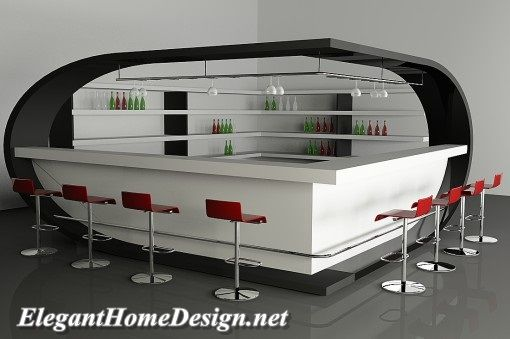 Modern home bar décor makes the user feel comfort in the room. The comfort feeling in the bedroom not only made by the material selection of the bedroom, but also the design of the bedroom can influence the comfort feeling of the bedroom user
