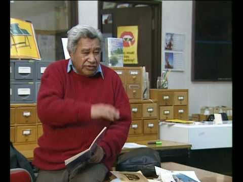 Hone Tuwhare NZ Poet. I met and read for him at high school.