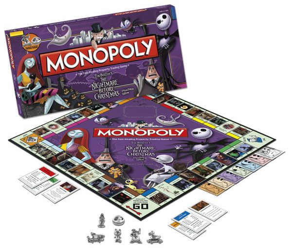 GeekAlerts has shown you some cool collectible board games like: Doctor Who Monopoly, Nightmare Before Christmas Trivial Pursuit and Doctor Who Time Wars.  You know board games are always fun when you have friends over, but you need to
