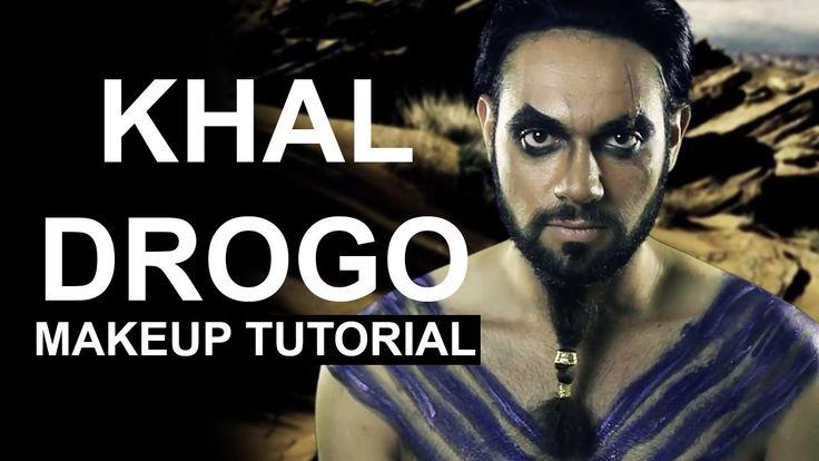 Cosplay Makeover: Khal Drogo Makeup Transformation