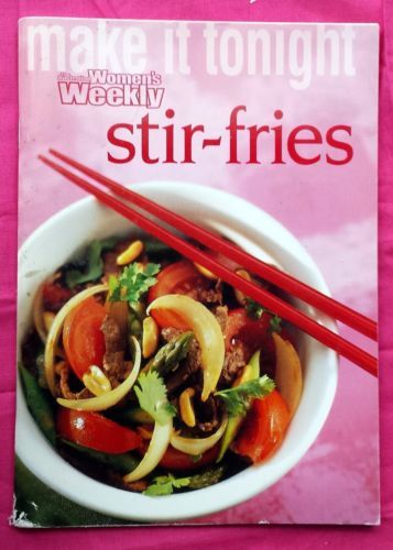 Stir-Fries-Women-039-s-Weekly-Mini-Cookbook-FREE-AUS-POST-very-good-used-paperback